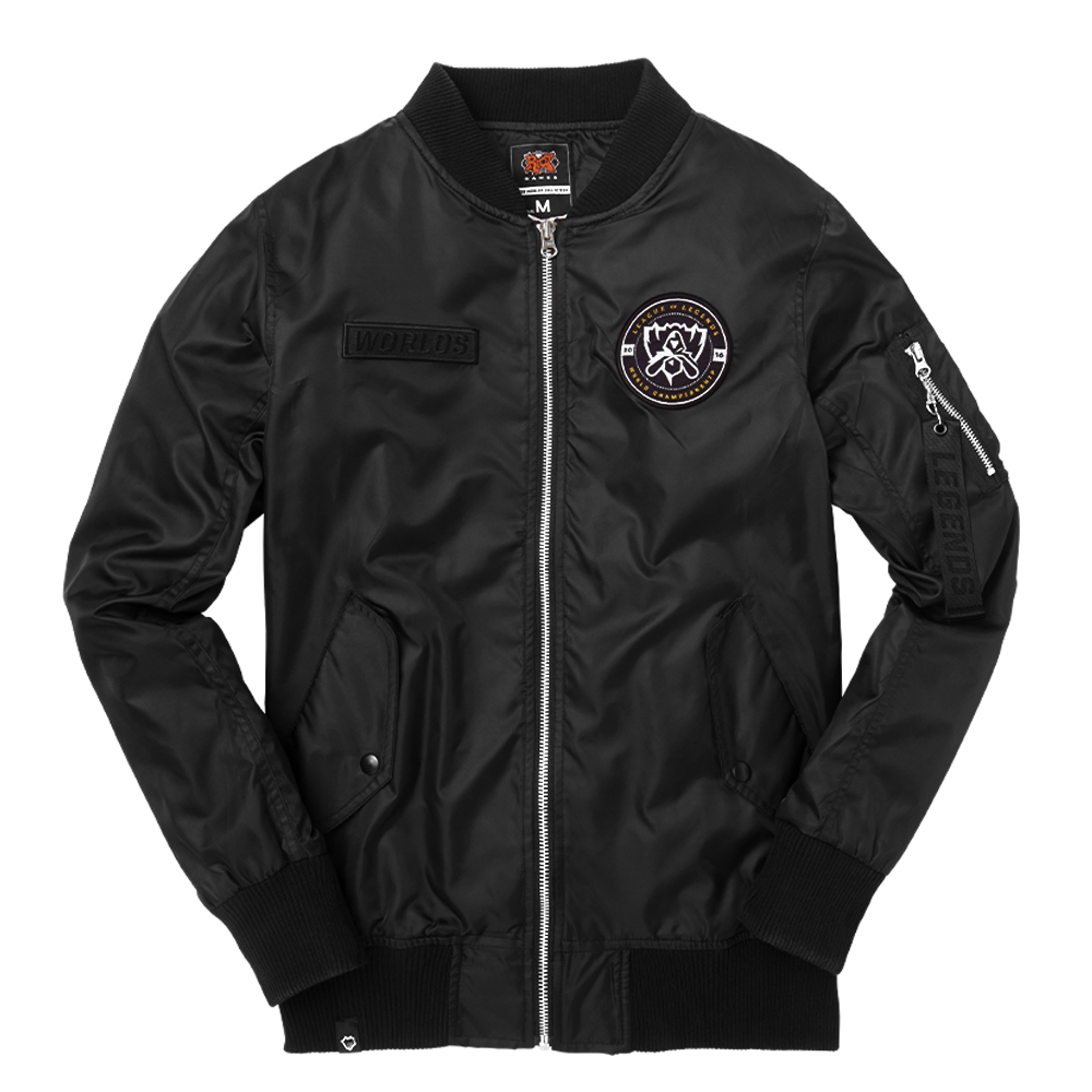 2016 Worlds Bomber Jacket Unisex Riot Games Store