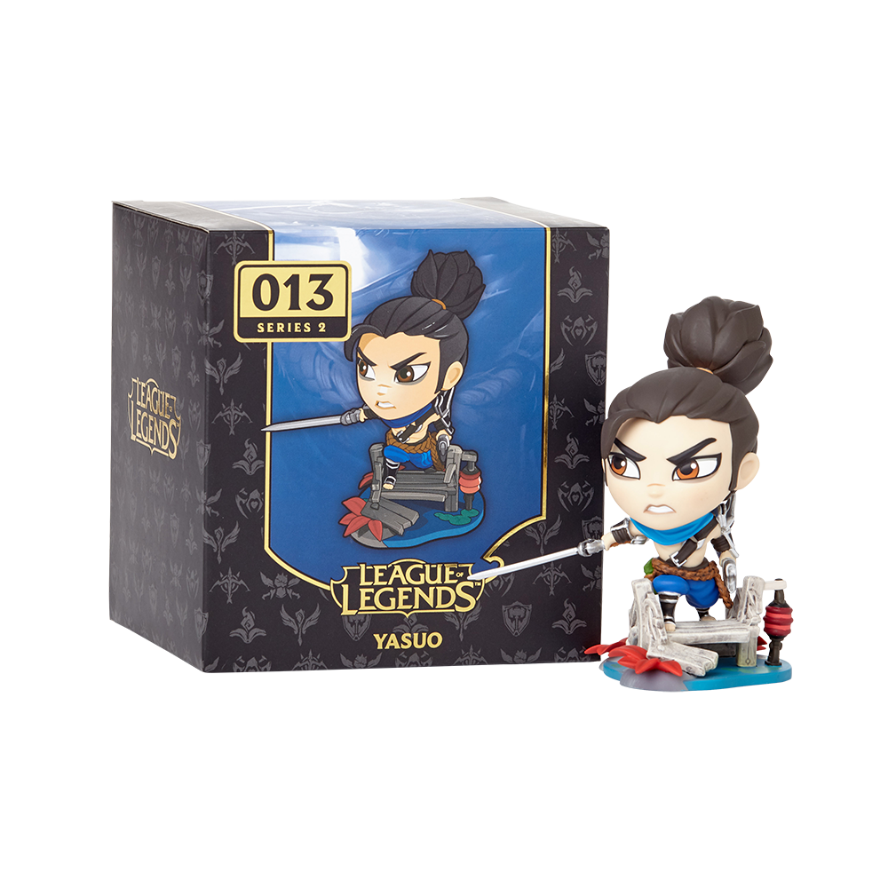 With Box League of Legends Yasuo Figure