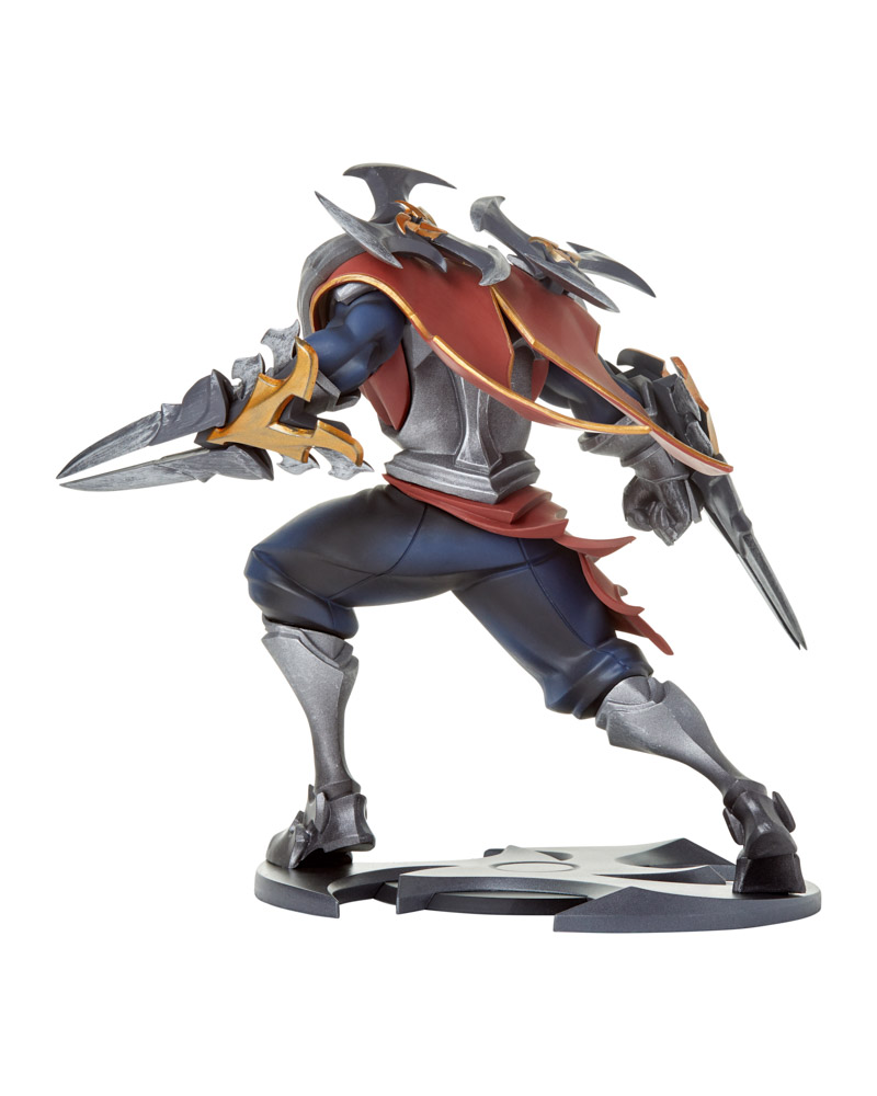 riot games merch zed unlocked statue statues collectibles