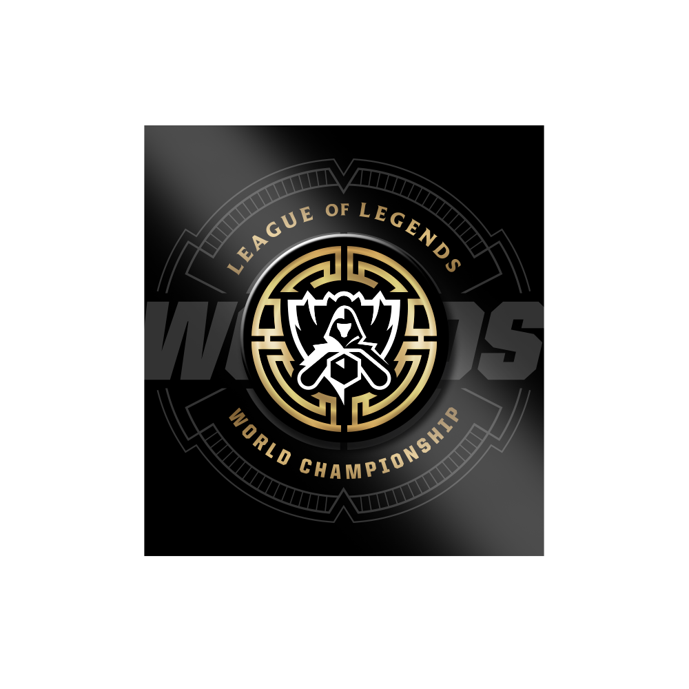 Worlds 2017 Pin - Riot Games Store