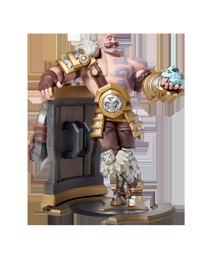 Braum Unlocked Xl Statue Riot Games Store